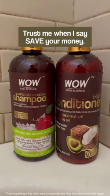Apple Cider Vinegar Haircare Combo