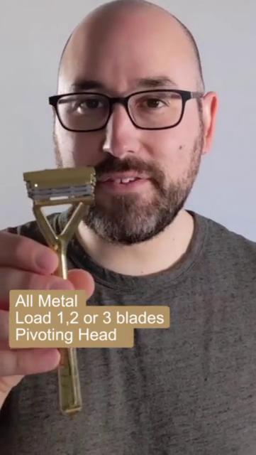 Load blades pivoting head