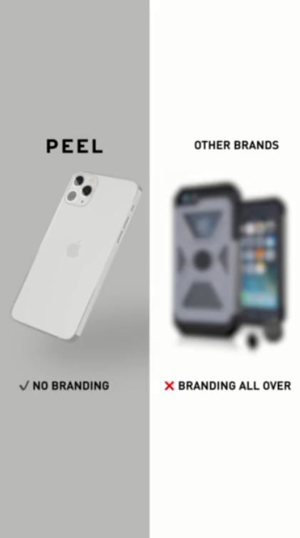 Peel the original super thin case
