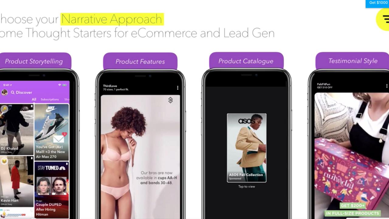 Snapchat Creatives + Campaign Set Up